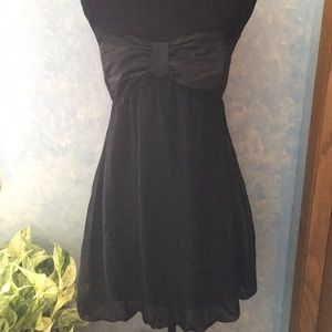 Strapless Bow Dress Mini length